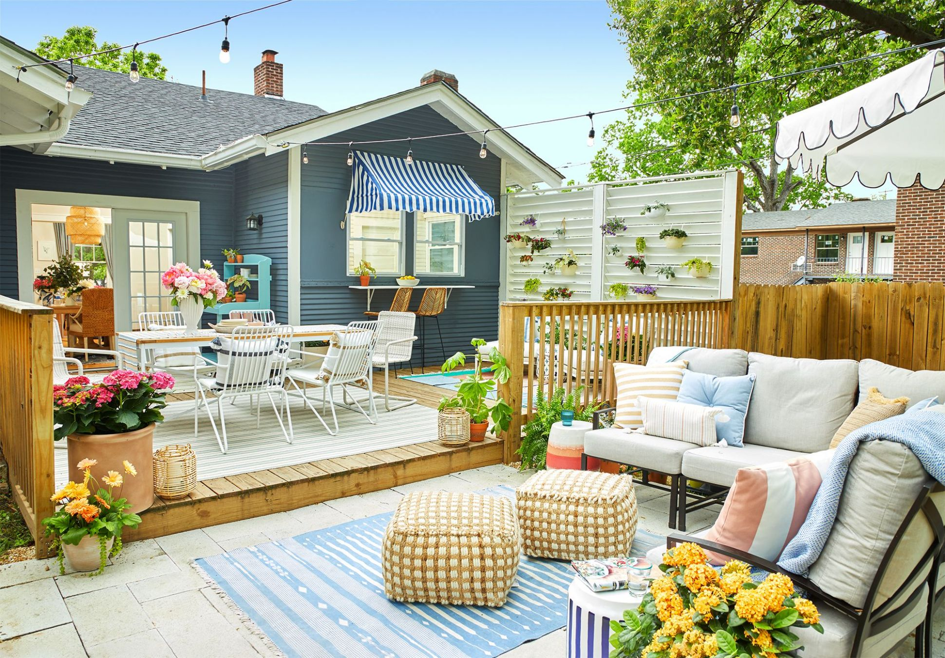 8 Small Backyard Ideas - Small Backyard Landscaping and Patio Designs