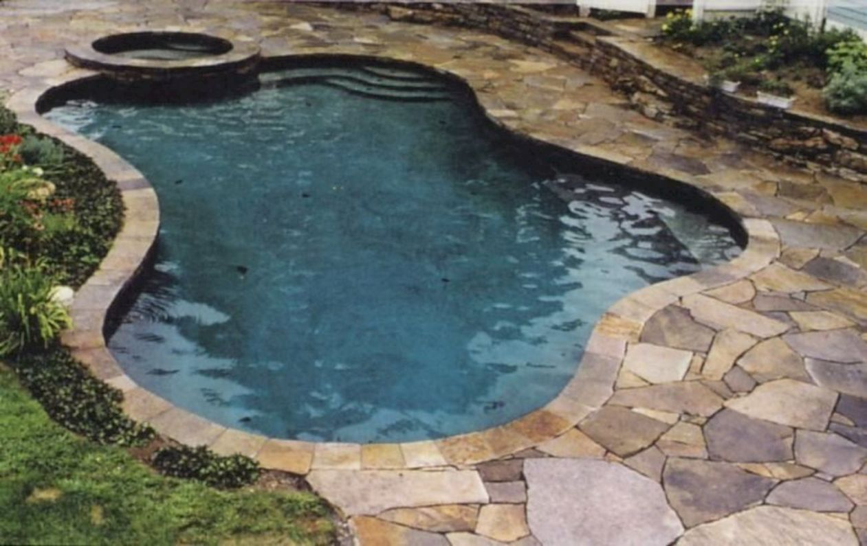 8 Style Swimming Pool with Natural Stone Tiles (With images ..