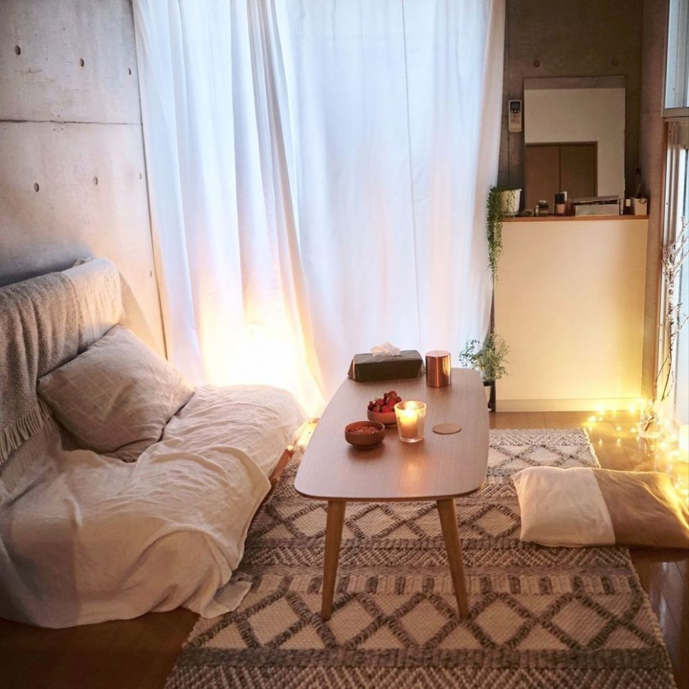 8 Stylish Decorating Ideas for a Japanese Studio Apartment - Blog - small apartment japanese design