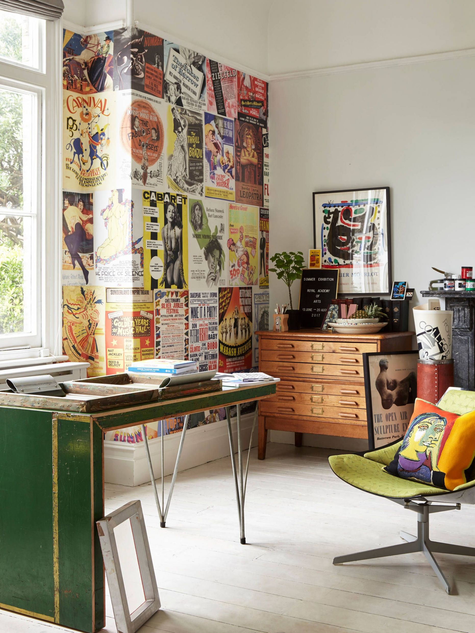8 Sublime Eclectic Home Office Designs To Work In Comfort ..