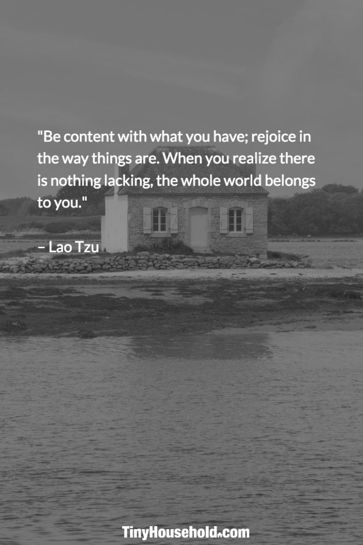8 Tiny House Quotes that will give you Goosebumps! | Contentment ..