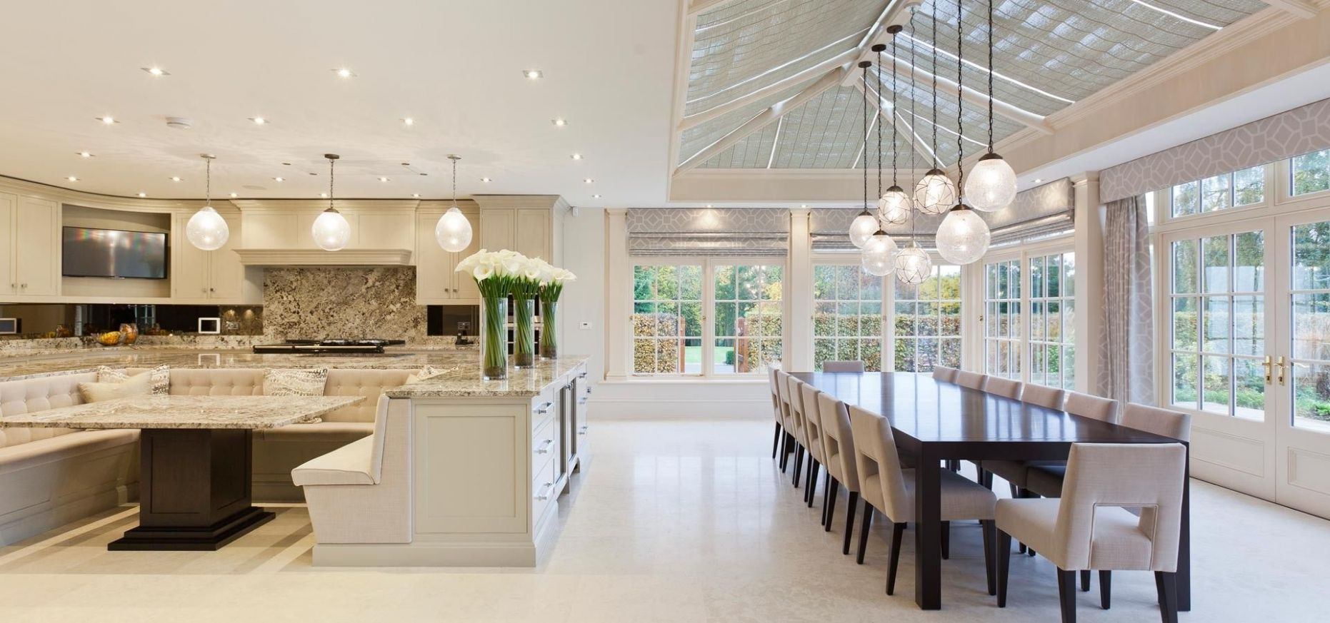 8+ Wonderful Traditional Conservatory Kitchen Designs (With ...
