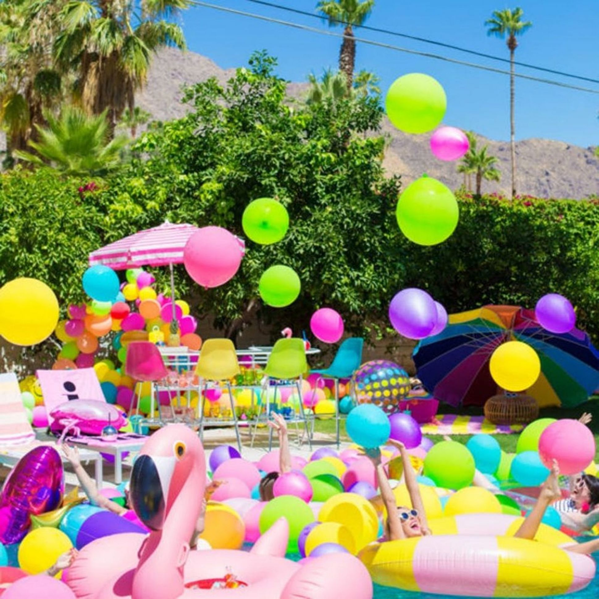 8th Birthday Pool Party Ideas That Will Make a Splash - Brit + Co - pool party ideas for adults