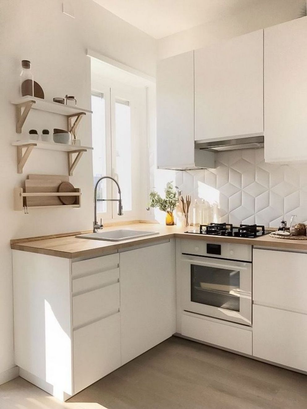 9 Amazing Small Apartment Kitchen Ideas | Small apartment kitchen - apartment kitchen design ideas pictures