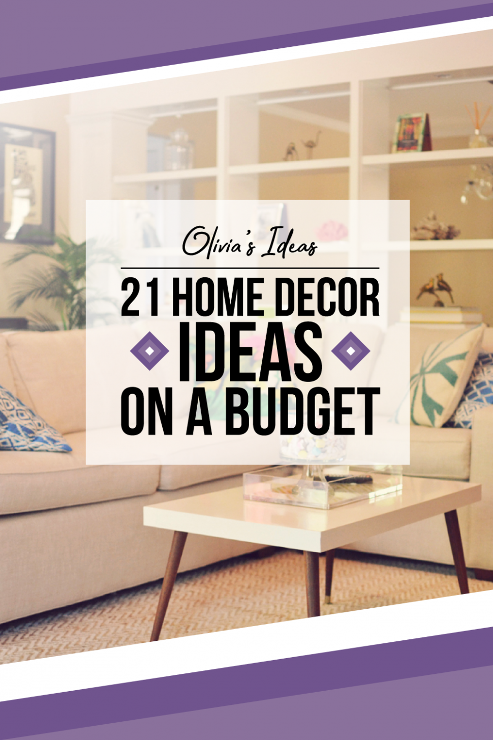 9 Beautiful And Cheap Home Decor Ideas On A Budget (With images ..