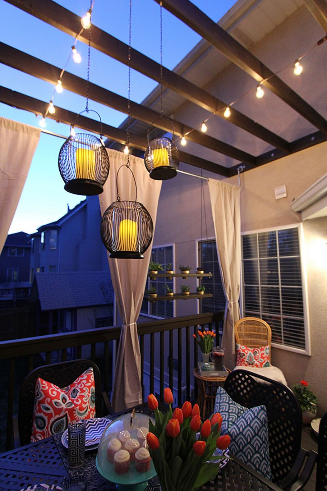 9 Beautiful Apartment Balcony Lighting Ideas for a Modern ..