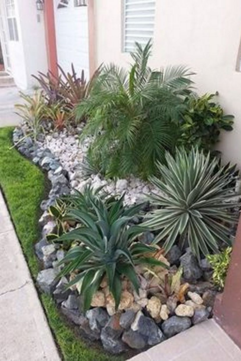 9 Beautiful Harmony of Modern Garden Design with Stones and ...