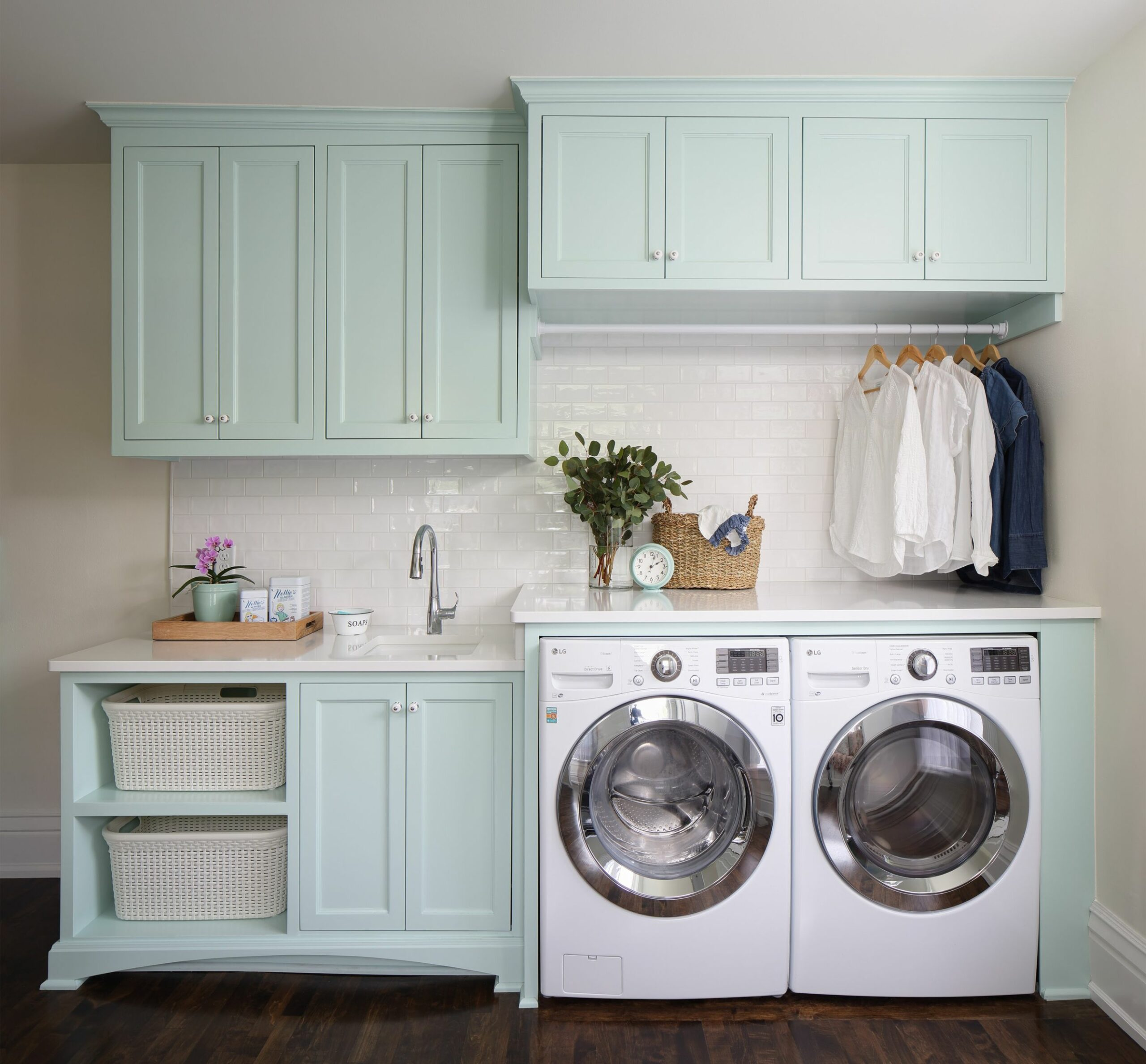 9 Beautiful Laundry Room Pictures & Ideas | Houzz - laundry room trim ideas