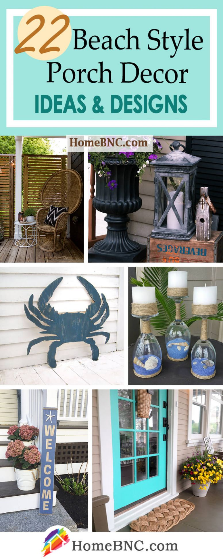 9 Best Beach Style Porch Decoration Ideas and Designs for 9