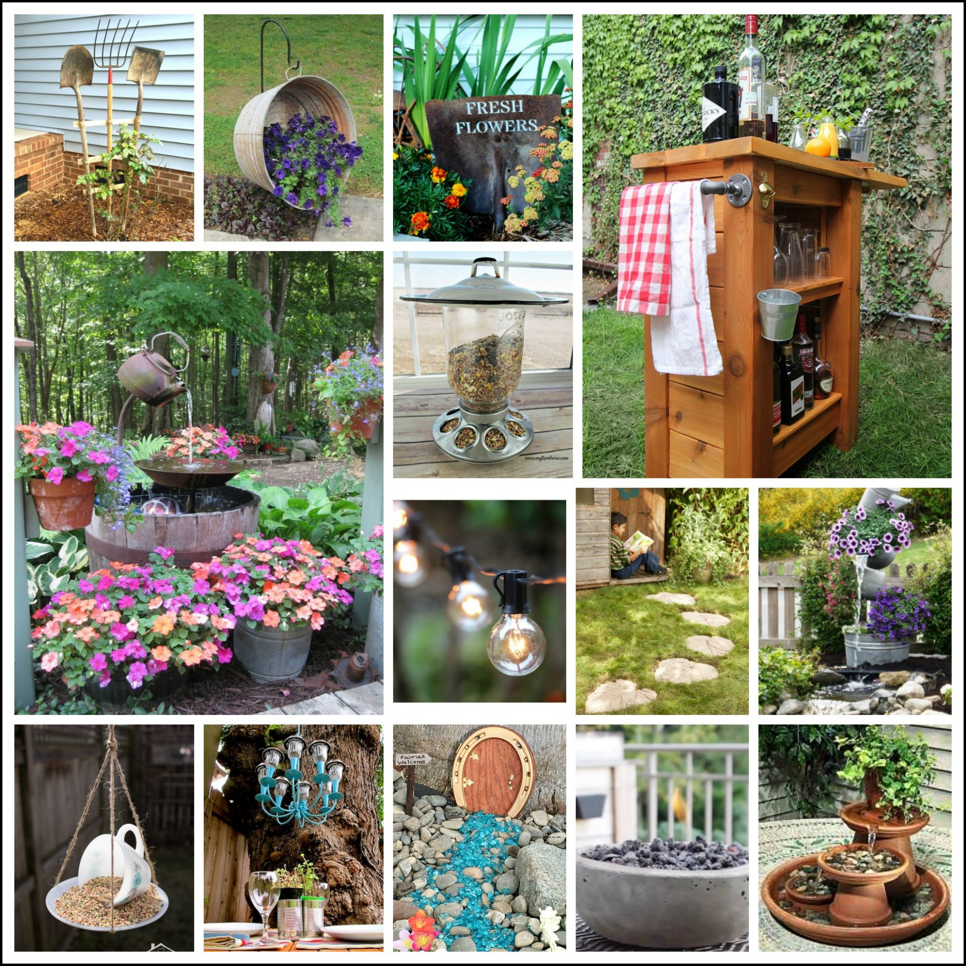 9 Best DIY Backyard Projects and Garden Ideas - My Turn for Us - garden ideas diy
