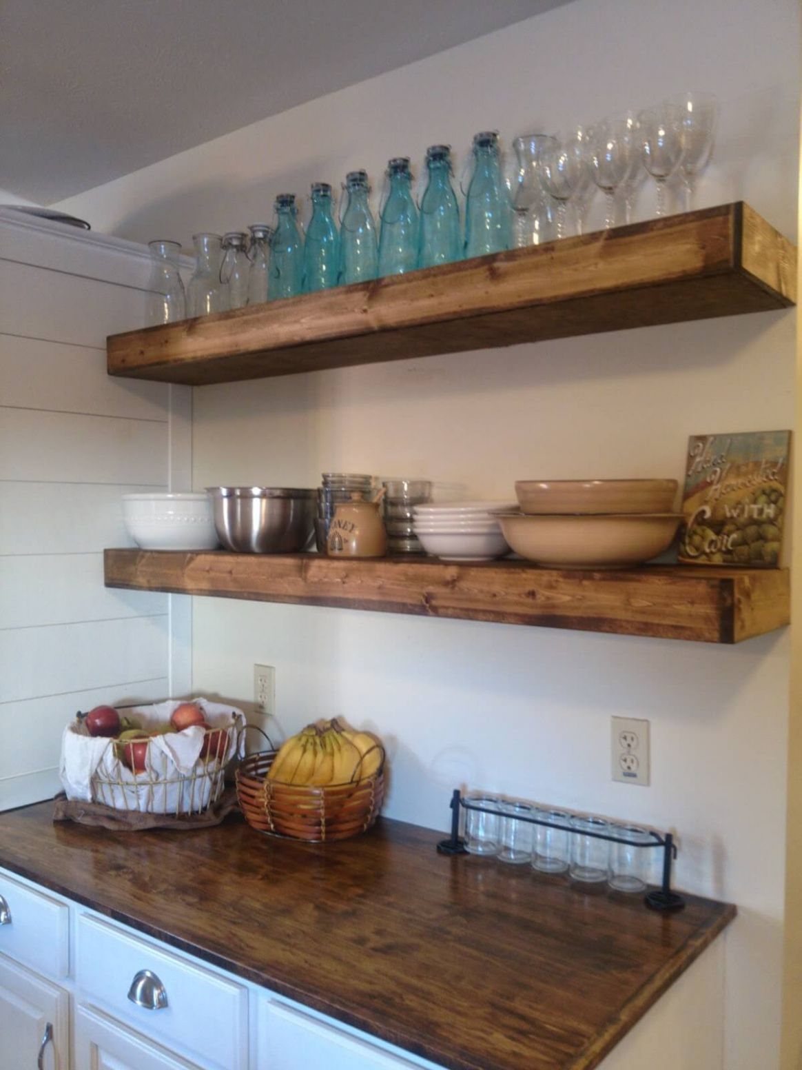 9+ Best DIY Floating Shelf Ideas and Designs for 9 - wall shelves decorating ideas kitchen
