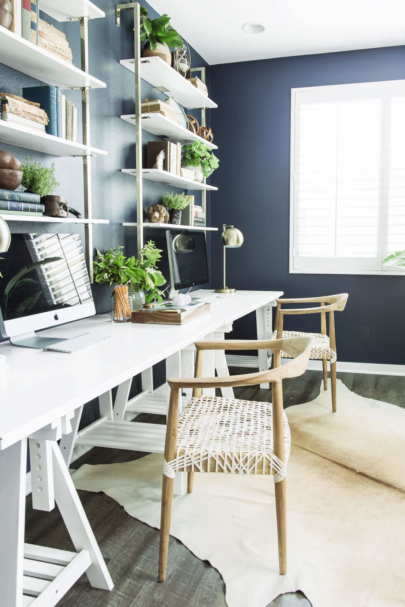 9 Best Home Office Decorating Ideas - Decor and Organization for ...