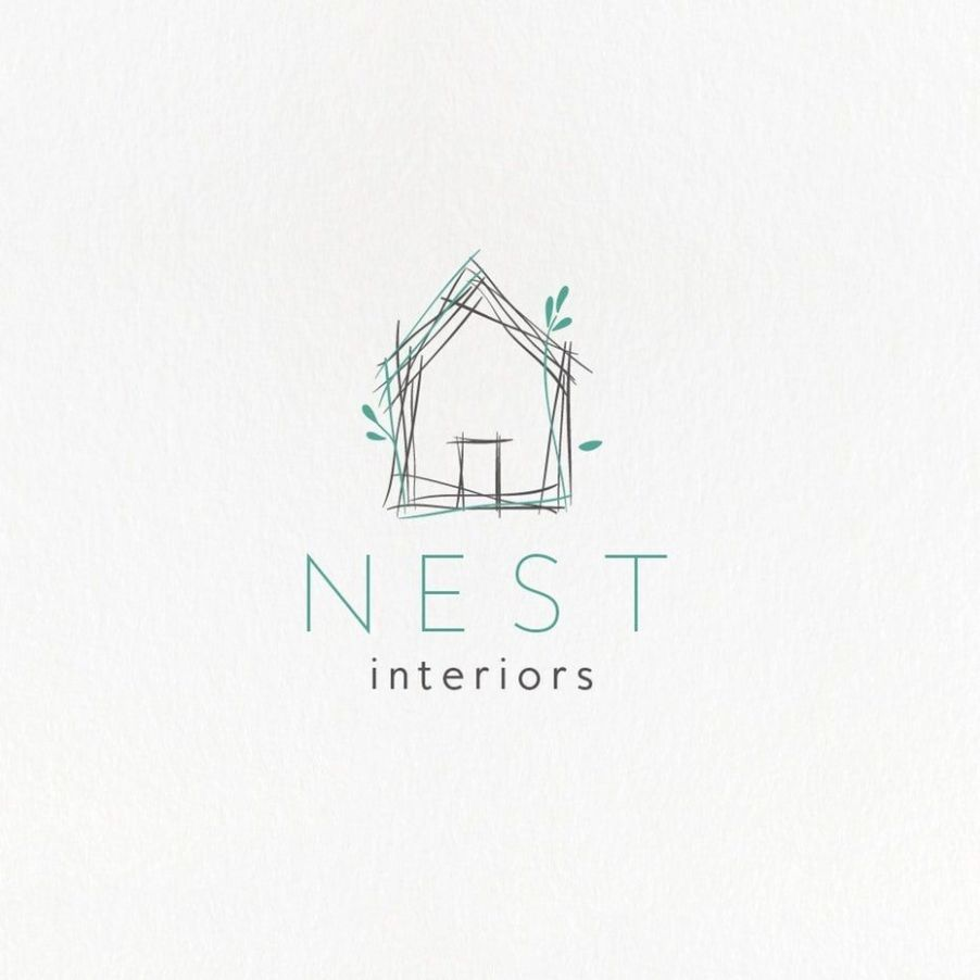 9 best logos for creative inspiration (With images) | House logo ..