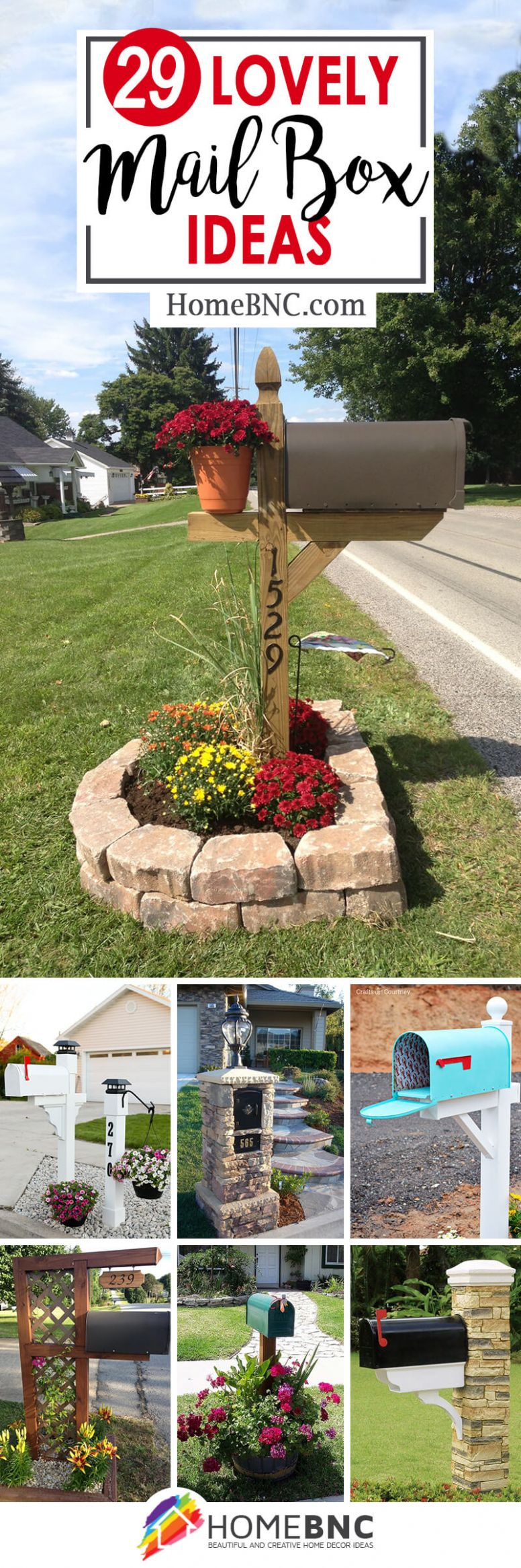 9 Best Mailbox Ideas and Designs for 9