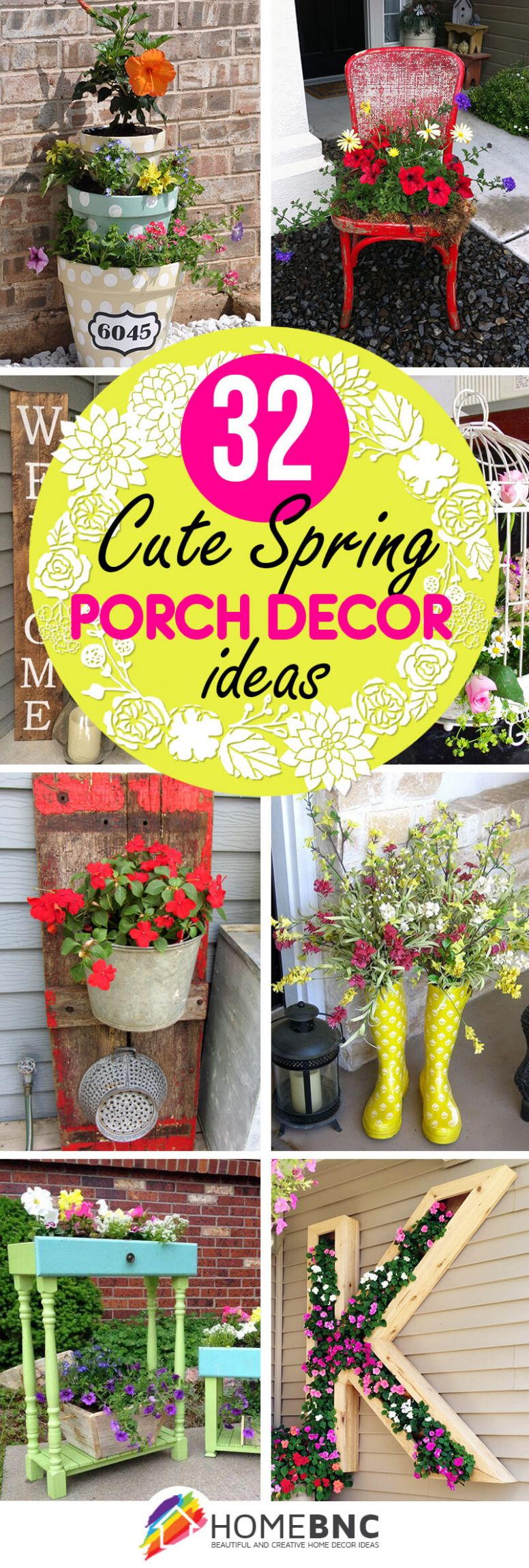 9 Best Spring Porch Decor Ideas and Designs for 9 - yellow front porch decor