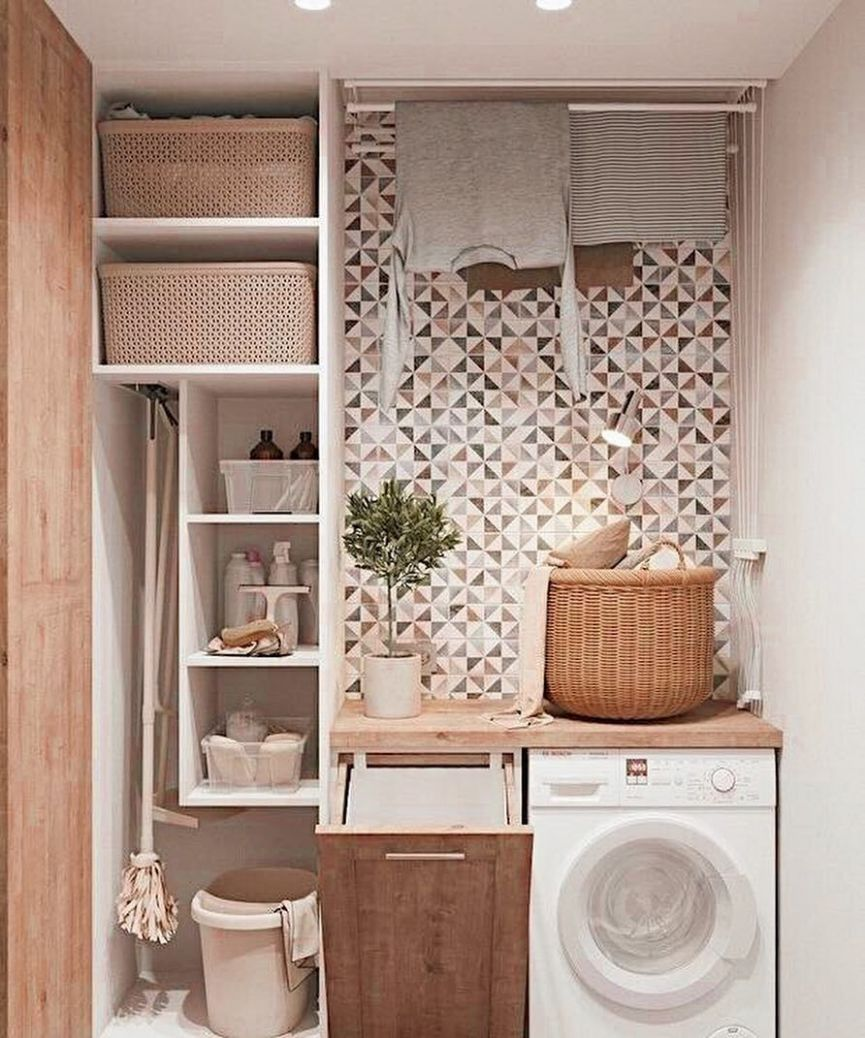 9 Brilliant Laundry Room Ideas for Small Spaces - Practical ...
