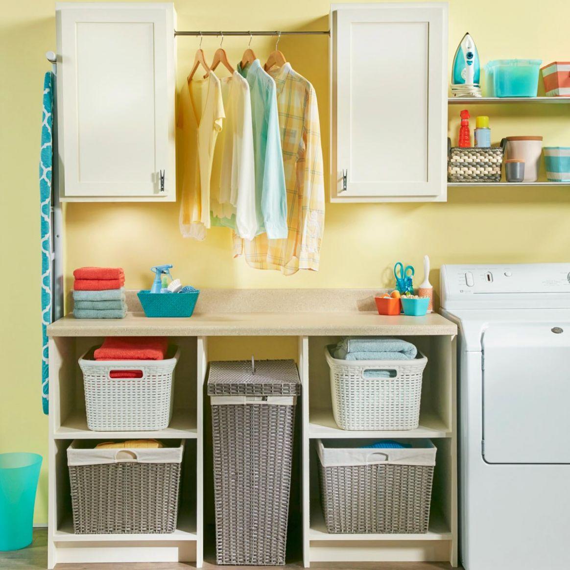9 Cheap Laundry Room Ideas You Can DIY Today! | Family Handyman