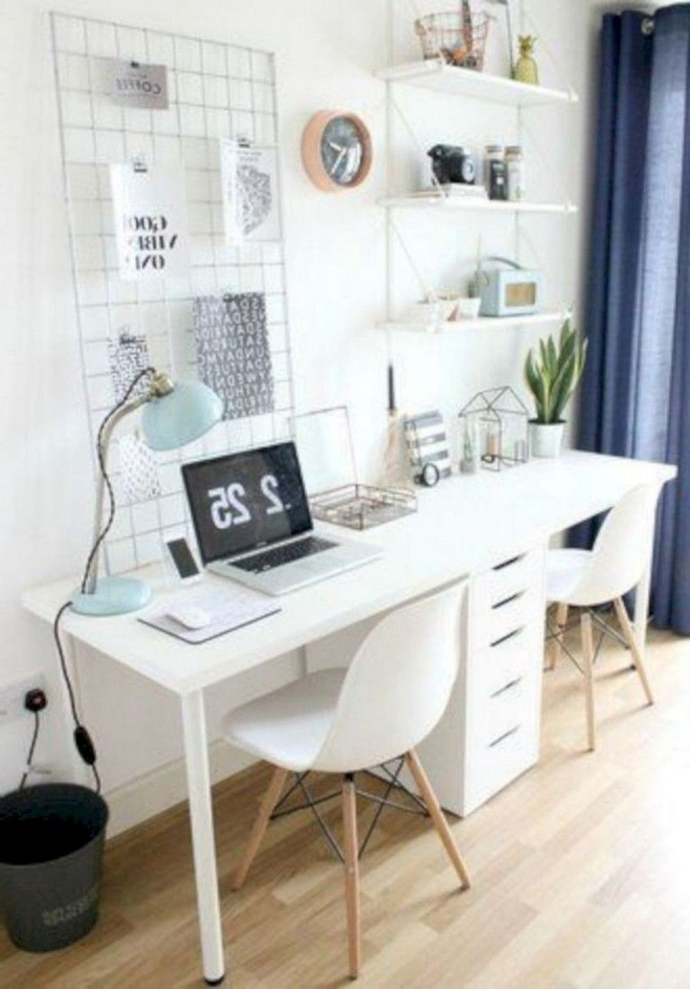 9 Comfy Home Office Design Ideas For Small Apartment - TRENDEDECOR