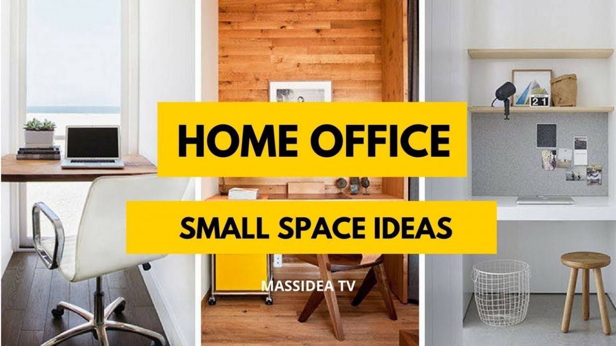 9+ Creative Small Space Home Office Ideas Inspiration 9