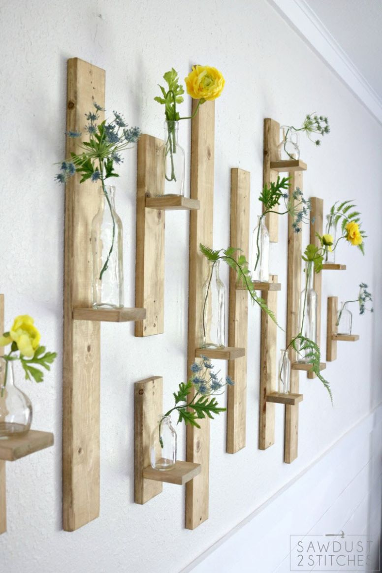 9 Cute DIY Wood Home Decor Projects – The House of Wood