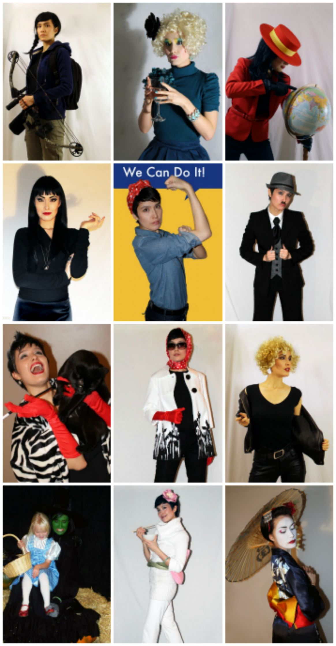 9 Easy Halloween Costumes from Your Closet   Halloween Costume ..