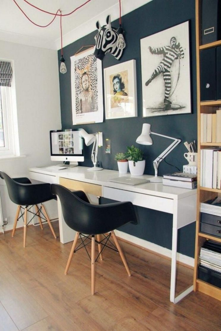 9 Elegant Office Decor Ideas For Small Apartment (With images ...