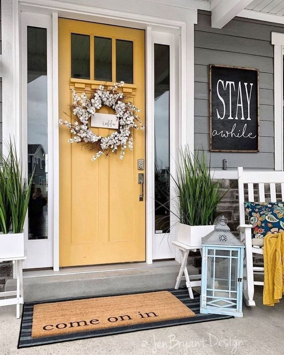 9 Front Porch Decorating Ideas Spring And Summer in 9 | Front ..