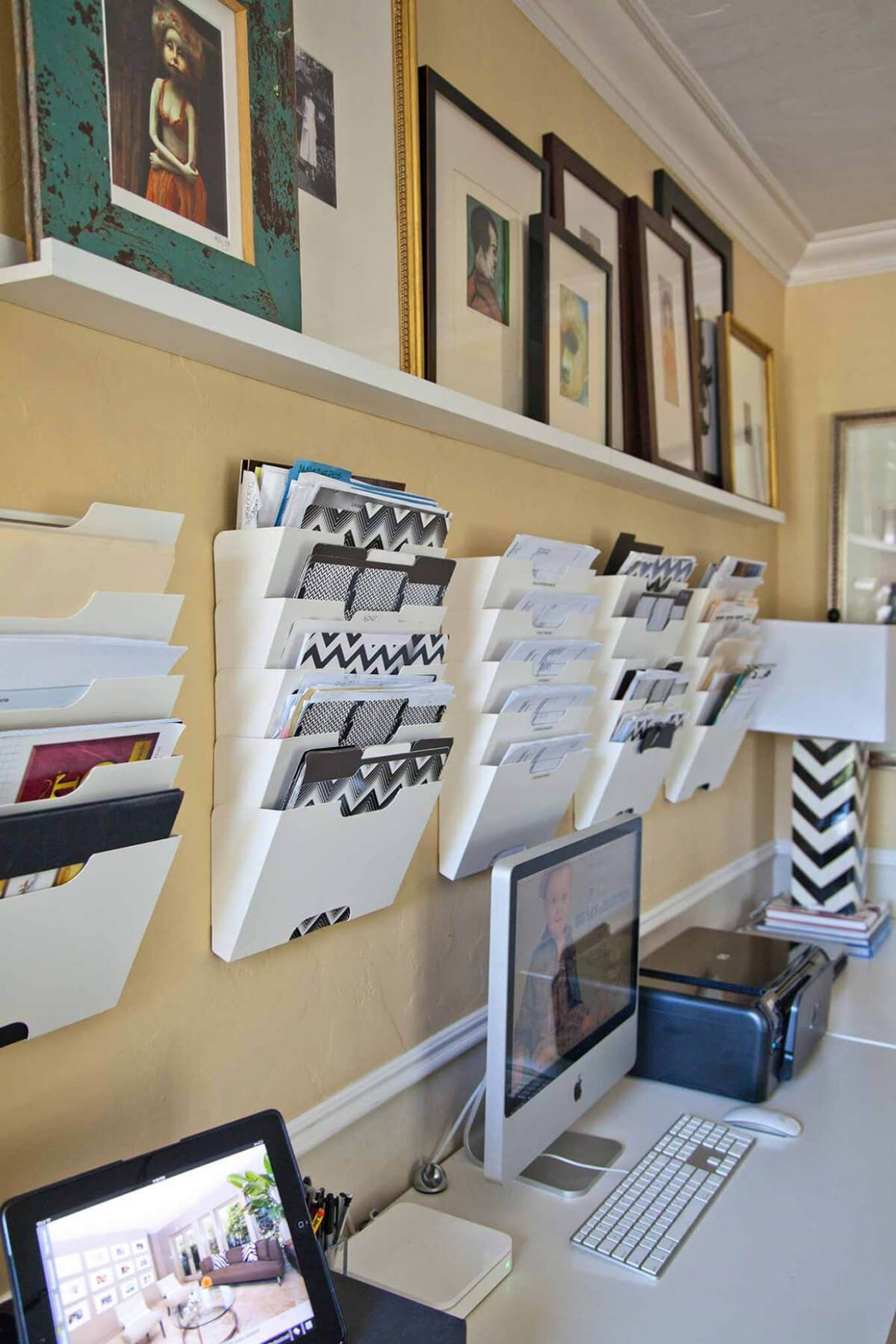 9 Genius Home Office Organization Ideas to Create the Perfect ..