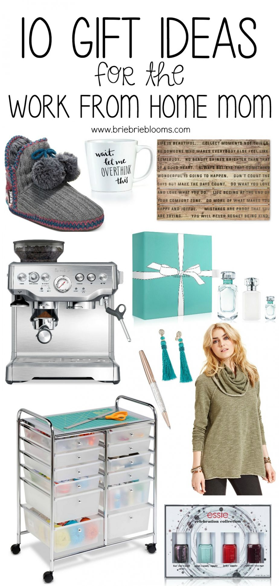 9 Gift Ideas for the Work from Home Mom - Brie Brie Blooms - home office gift ideas