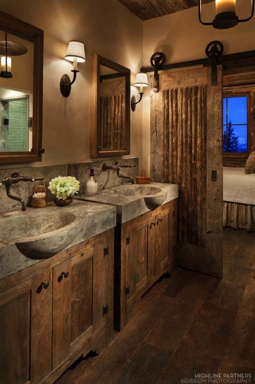 9 Gorgeous Rustic Bathroom Decor Ideas to Try at Home | Rustic ..