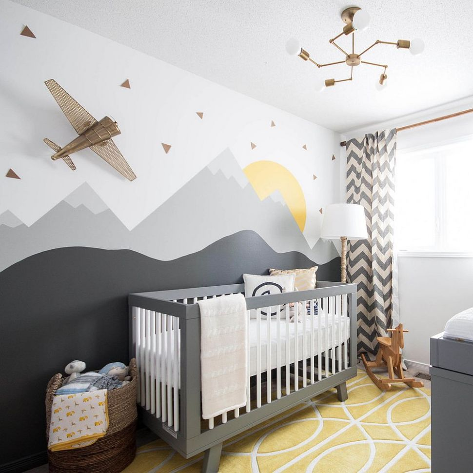 9 Gray and Yellow Nursery Designs with Refreshing Elegance