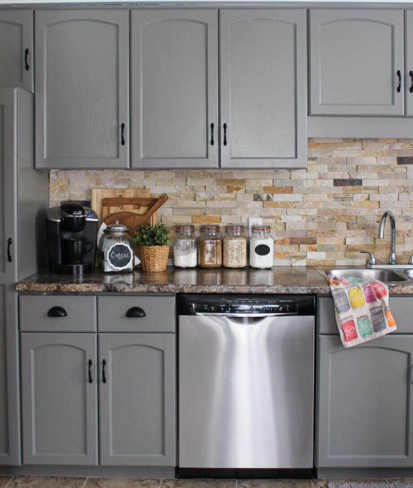 9 Gray Kitchen Cabinets Ideas With Beautiful Designs For Your ...
