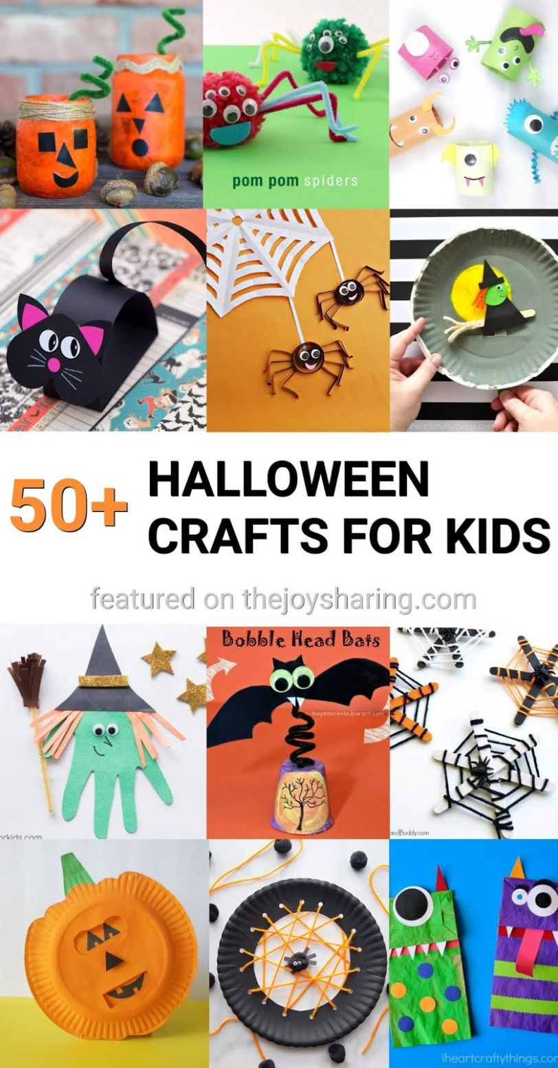 9+ Halloween Crafts for Kids - The Joy of Sharing