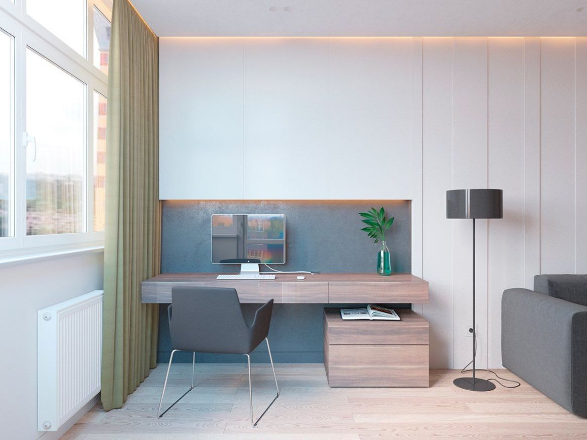 9 Ideas For A One Bedroom Apartment With Study (Includes Floor ..