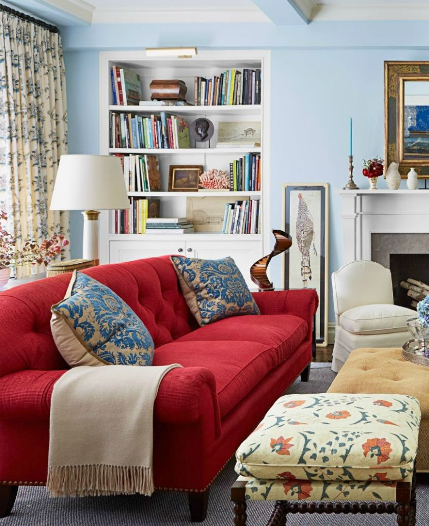 9-Ideas-That-Will-Make-You-Fall-In-Love-With-A-Red-Sofa-9 9 ..