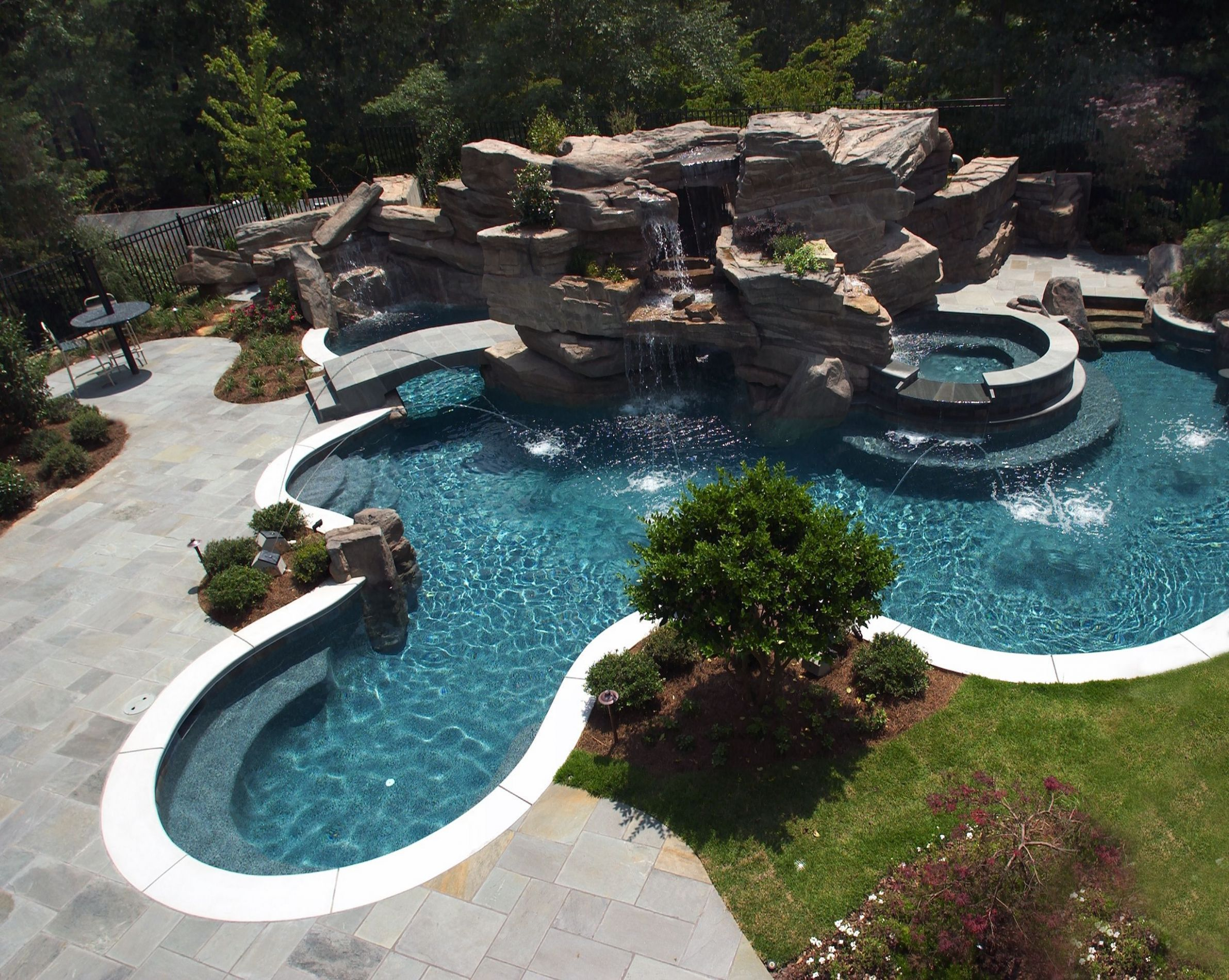 9+ Incredible Swimming Pool Design Ideas With Waterfall For Your ...