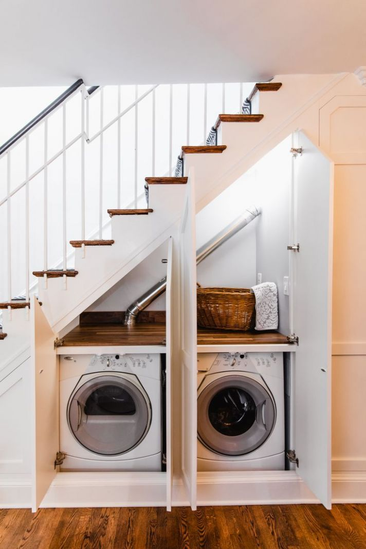 9 Inventive Ideas for That Space Under the Stairs (With images ...