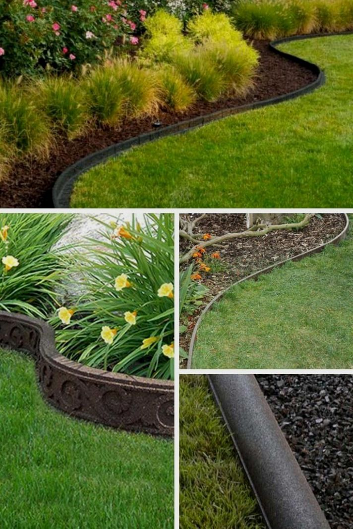 9 Lawn Edging Designs for You to Pick | Garden edging ideas cheap ..