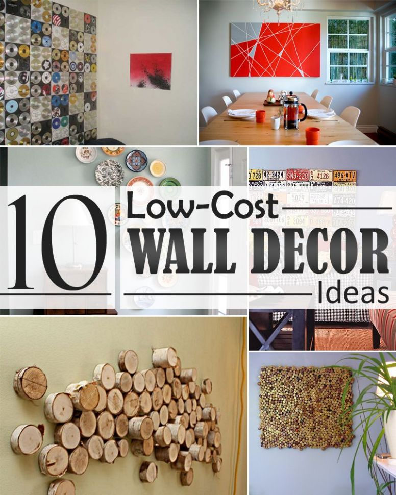 9 Low-Cost Wall Decor Ideas that Completely Transform The ...
