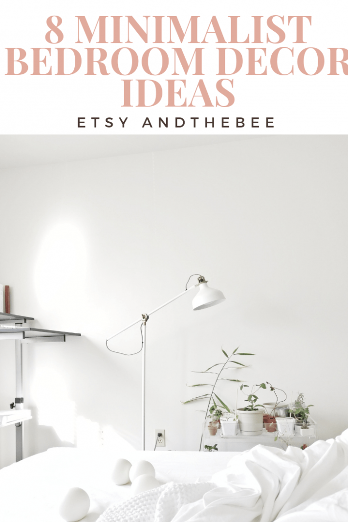 9 Minimalist Bedroom Decor Ideas from Etsy - andthebee