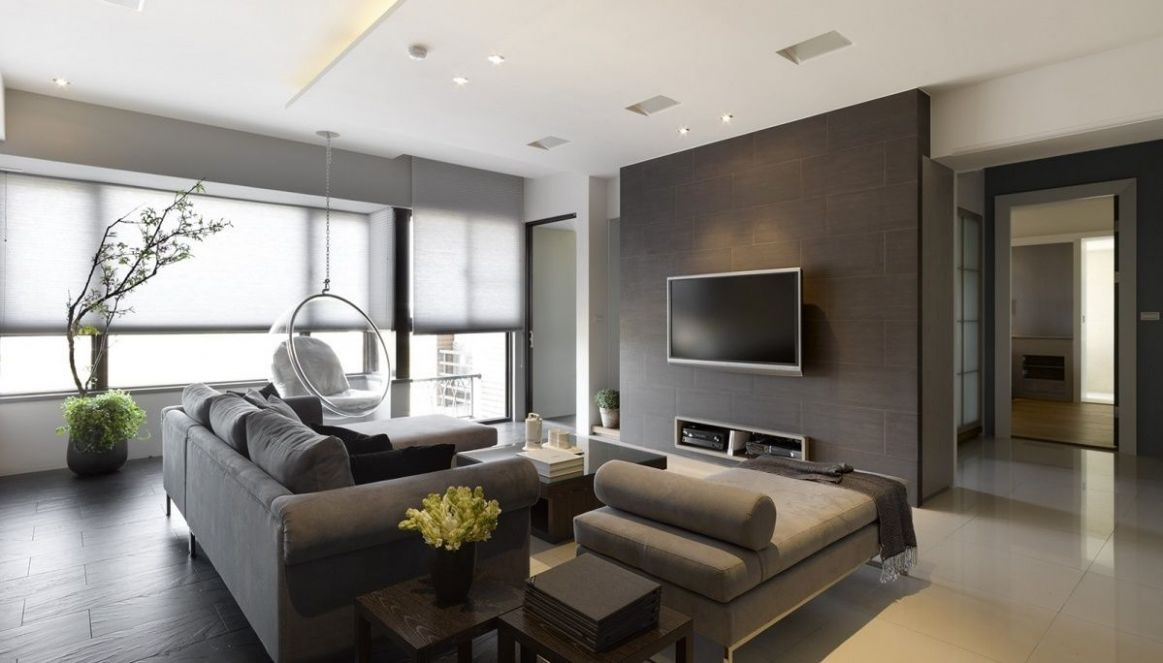 9 Modern Apartment Living Room Design Ideas (With images ...