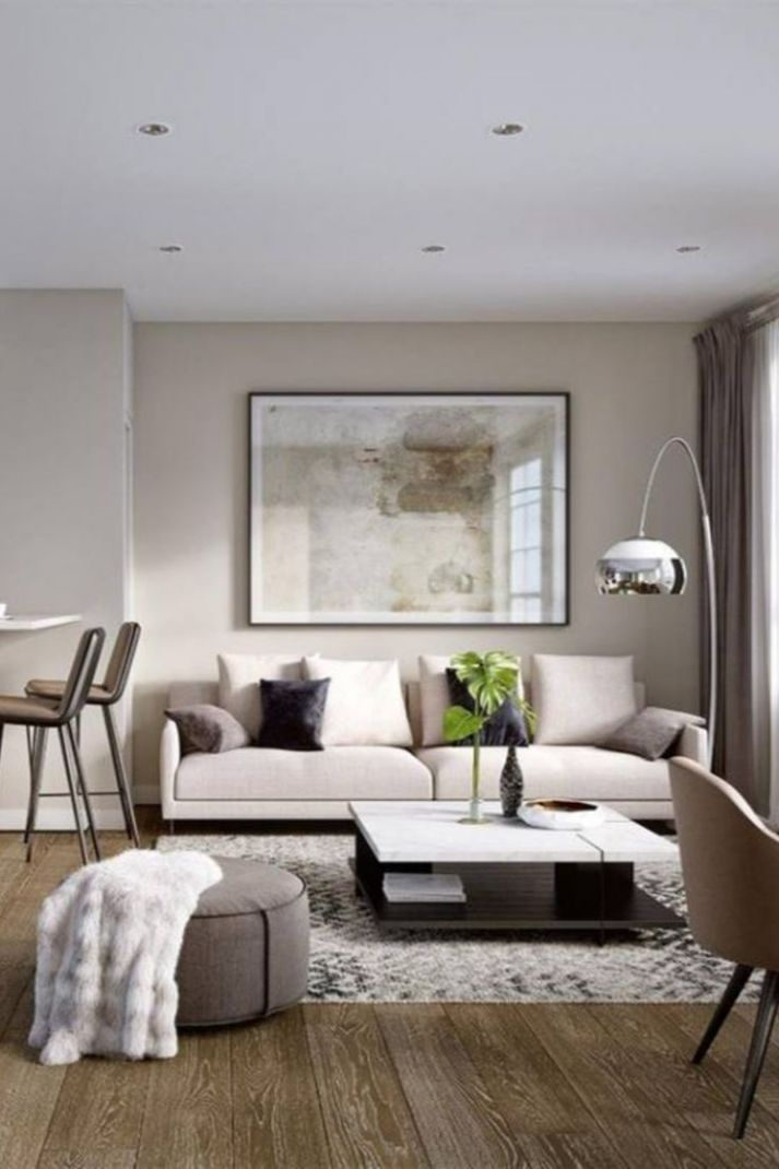 9+ Neutral Living Room Decor Ideas (With images) | Neutral living ...