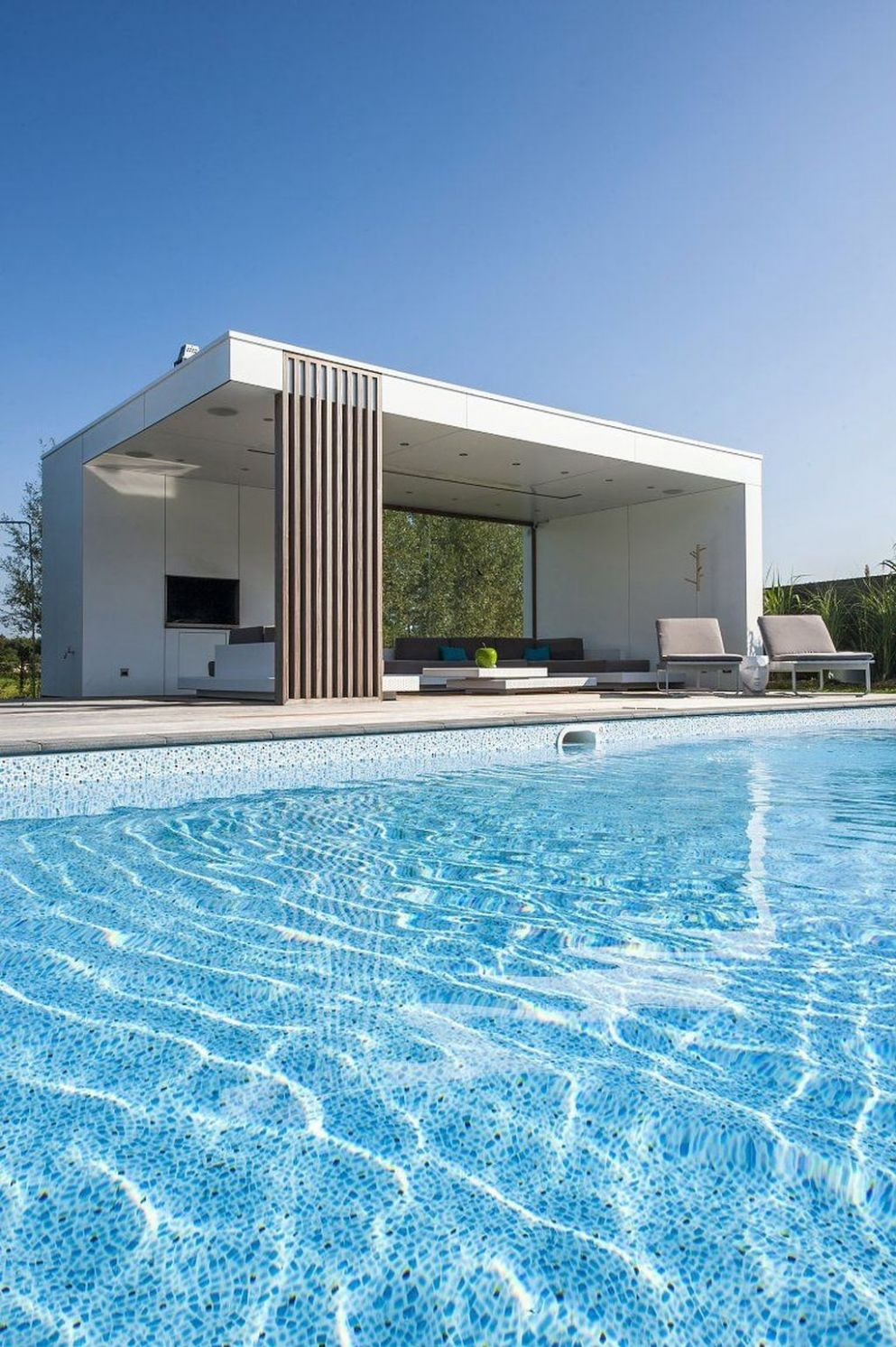 9+ Nice Pool House Decorating Ideas On A Budget | Pool houses ...