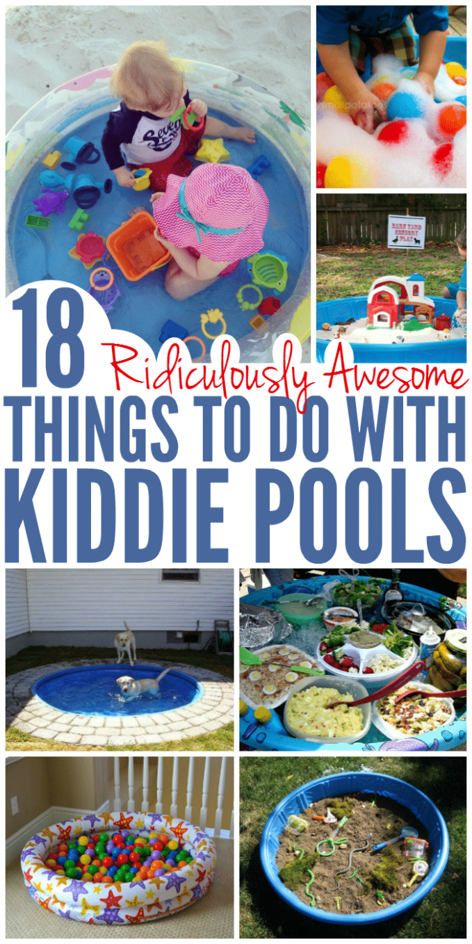9 Ridiculously Awesome Things to Do with a Kiddie Pool - Glue ...