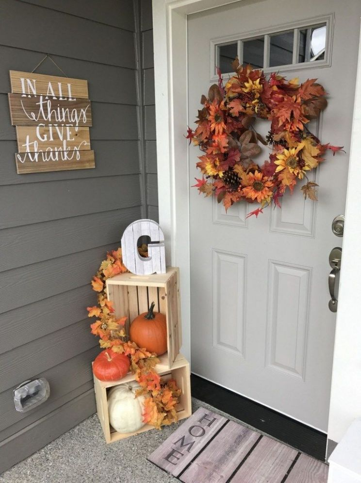 9 Simple & Creative DIY Thanksgiving Decorations (With images ...