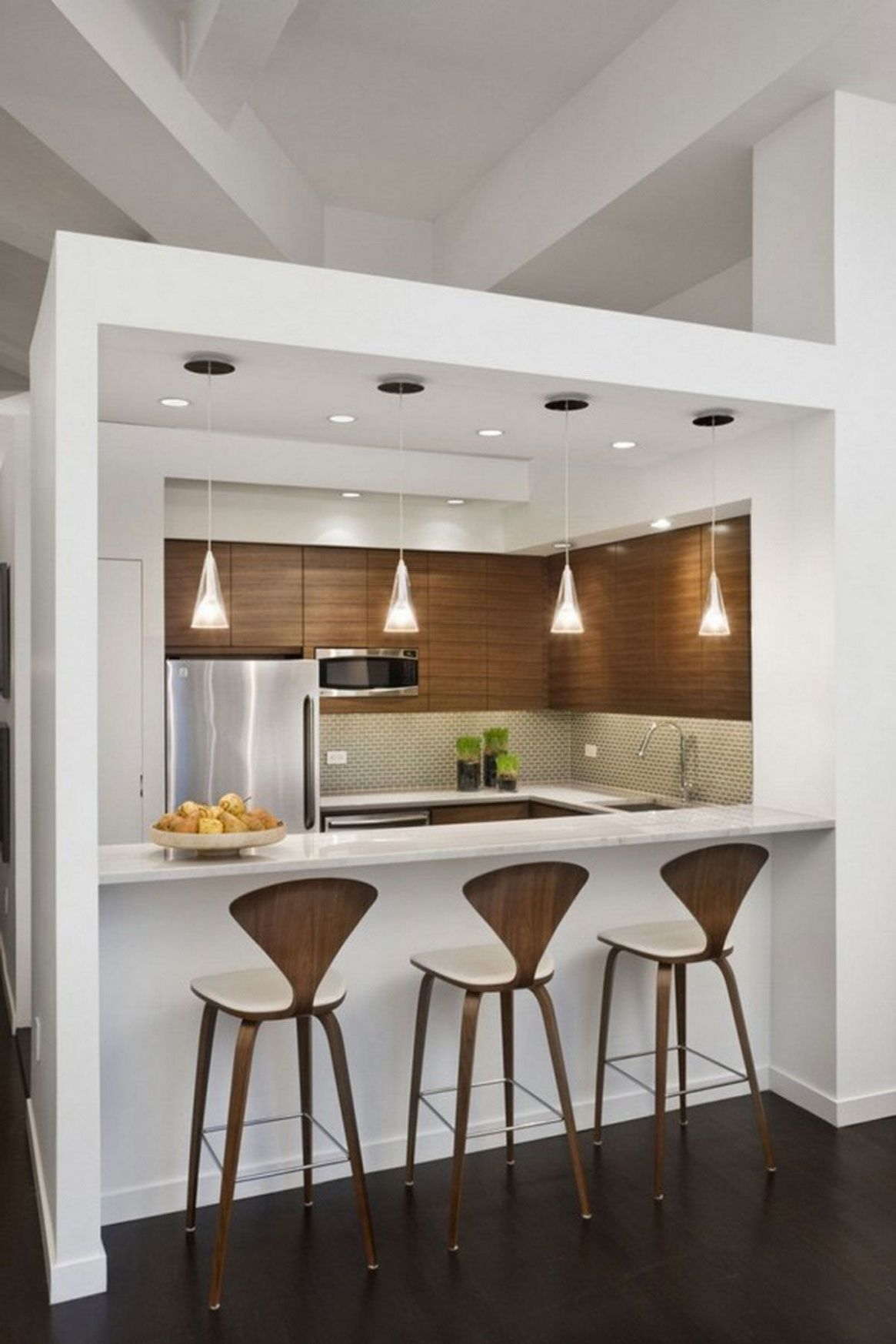 9 Small Kitchen Design Ideas Photo Gallery (With images ...