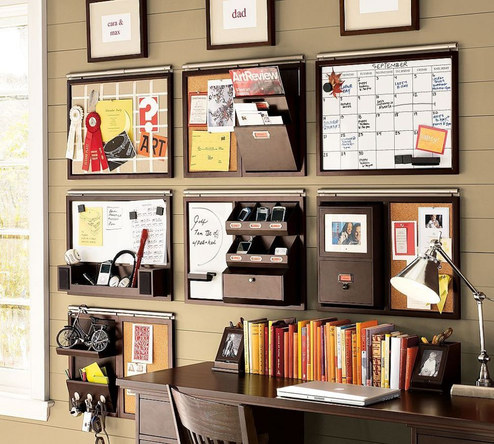 9 Smart, Low-Cost Organizing Ideas (With images) | Home office ...