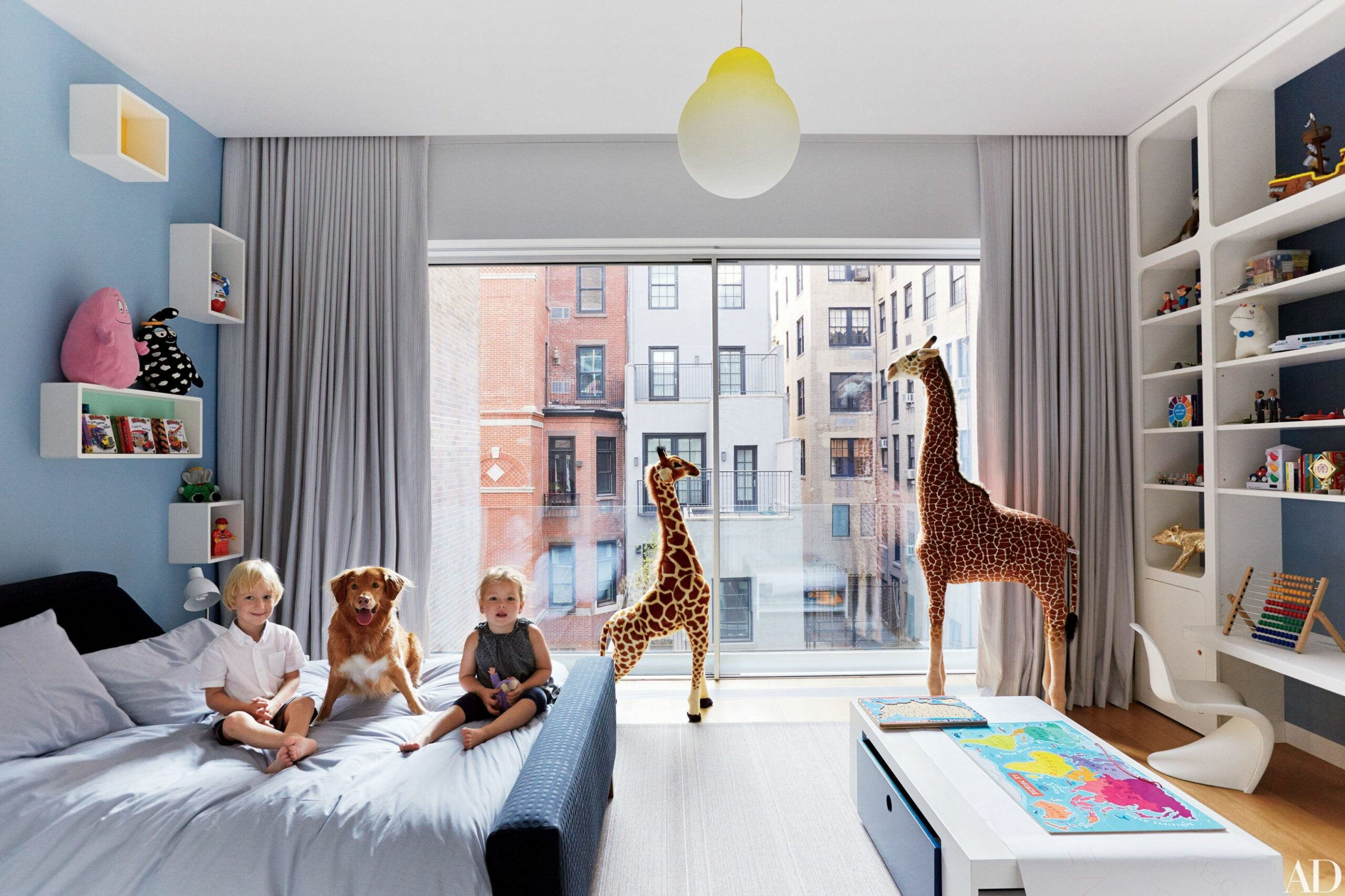 9 Stylish Kids Bedroom & Nursery Ideas | Architectural Digest - baby room pacific place