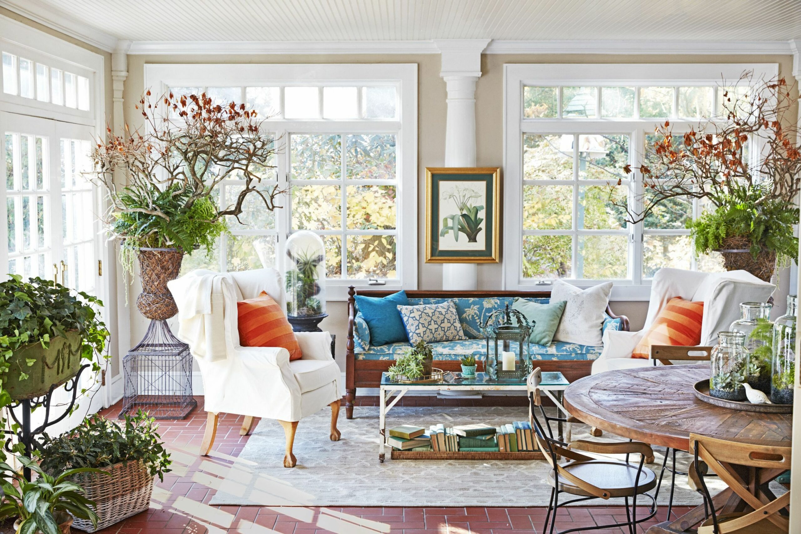 9 Sunroom Decorating Ideas - Best Designs for Sun Rooms - sunroom ideas pics