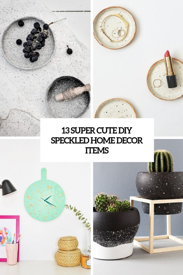 9 Super Cute DIY Speckled Home Decor Items - Shelterness